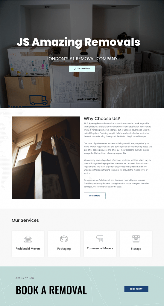 Brochure web design services Brochure websites